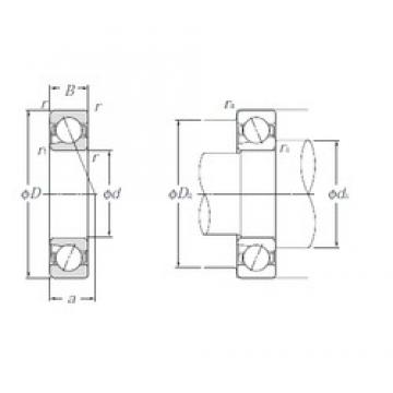 25 mm x 52 mm x 15 mm  NTN 5S-BNT205 Face-to-face duplex arrangement Bearings