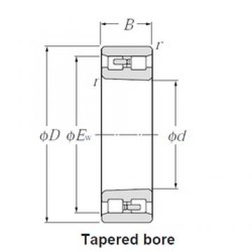 120 mm x 180 mm x 46 mm  NTN NN3024K Face-to-face duplex arrangement Bearings