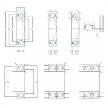 10 mm x 30 mm x 9 mm  SKF 7200 CD/HCP4A Reduced Torque from Optimized plan exactness Bearings